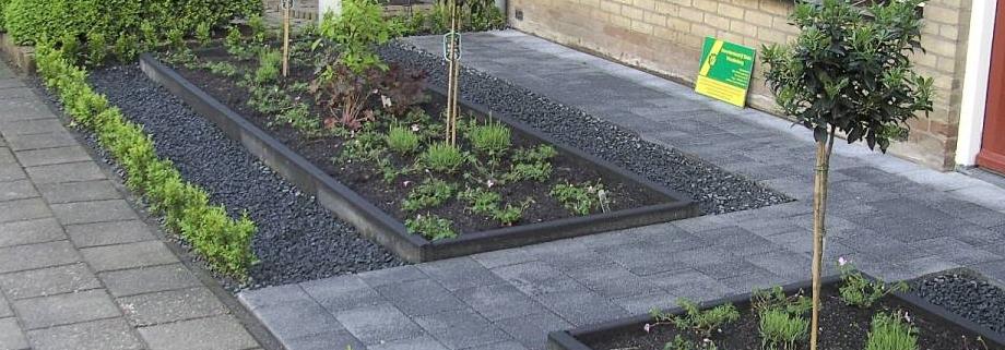 Tuinaanleg nieuwbouwwoning scherpenzeel tuinaanleg for Aanleg kleine tuin