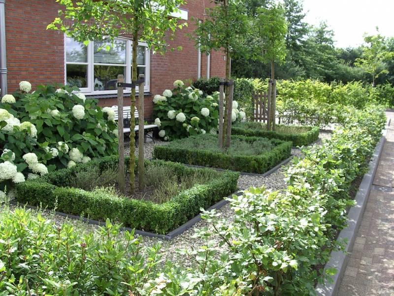 Aanleg voortuin te woudenberg tuinaanleg projecten hoveniersbedrijf sinke - Aangelegde tuin ideeen ...